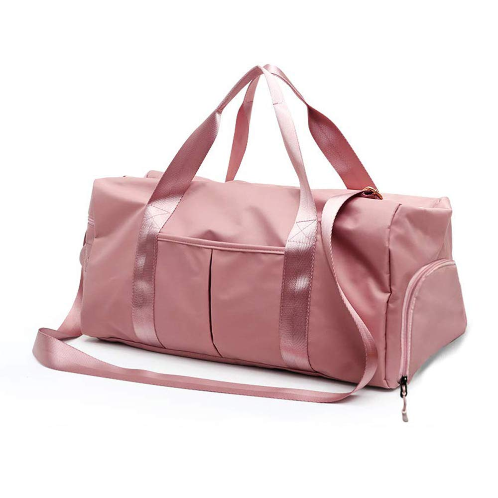 Gym Bag for Women and Men Sports Swim Travel Duffle Bag Weekender Bag with Shoes Compartment Dry and Wet Separation Waterproof