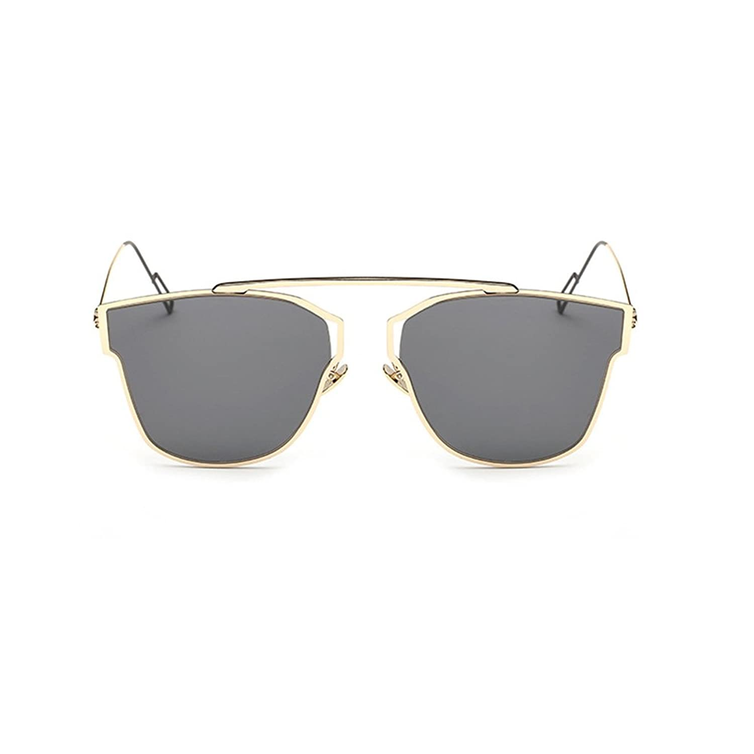 Hanerdun Chopper Frame Retro Rimless Fashion Sunglasses For Women UV400