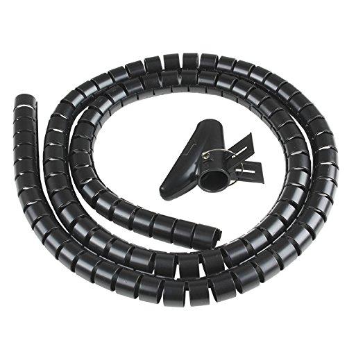 Vultech SN21505 cable organizer - organizadores de cables (Cable Eater, Escritorio, Negro, ABS sinté ticos) ABS sintéticos)