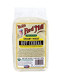 Bob\'s Red Mill Organic White Wheat Farina, 24 Ounce (Pack of 4)