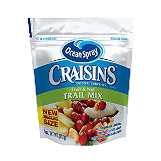 Ocean Spray Craisins Ocean Spray Trail Mix, Fruit & Nut, 5 Ounce