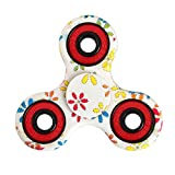 (US) Balai Tri-Spinner Fidget Hand Spinner Camouflage Multi-Color, EDC Focus Toys For Kids & Adults (B)