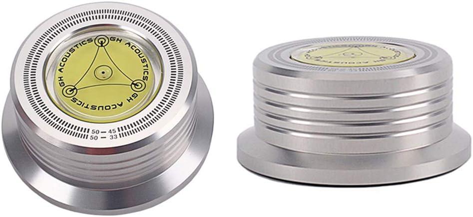 ULTECHNOVO Disc Stabilizer - Nivel de burbuja para tocadiscos ...