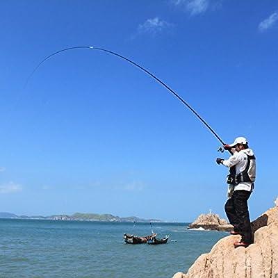 Freehawk Portable Telescopic Mini Pen Fishing Rod Mini Aluminum Pocket Pen Carbon Fiber Fishing Pole Travel Fishing Rod Pocket Sea Rods ISO Fishing Rods + 2000 Spinning Fishing Reel