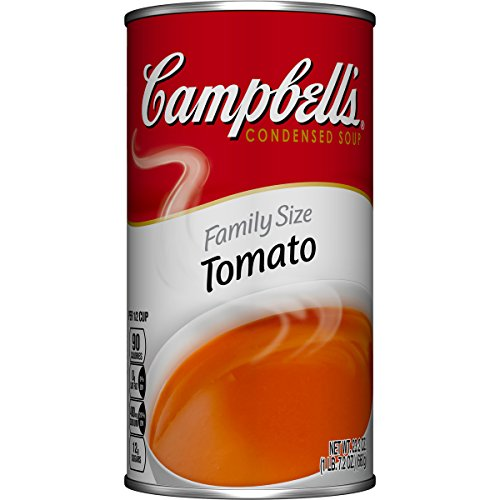 Campbell's Condensed Soup, Tomato, Family Size, 23.2 Ounce