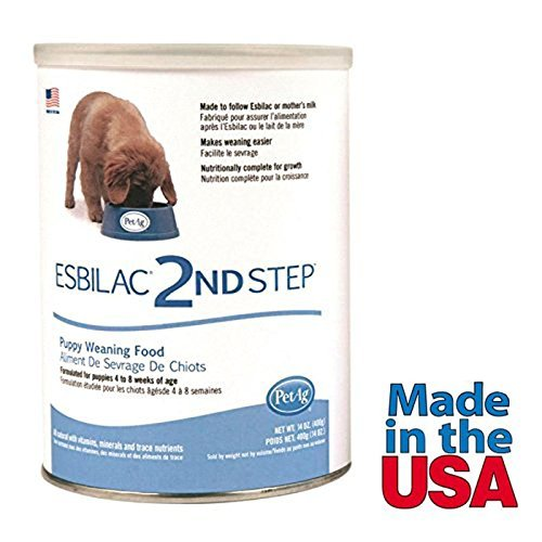 Puppy Milk Replacer Powder Puppy Weaning Food Made in USA 14 oz