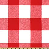 Premier Prints Anderson Check Lipstick Fabric By The Yard
