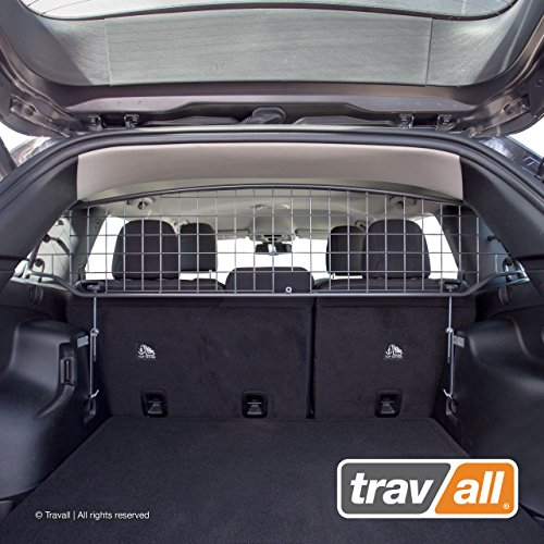 Travall Guard Compatible with Jeep Cherokee (2013-Current) TDG1446 - Rattle-Free Steel Pet Barrier