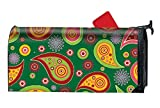 FANMIL Paisley Pattern Magnetic Mailbox Cover