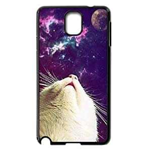 Galaxy Hipster Cat Custom Cover Case for Samsung Galaxy Note 3 N9000,diy phone case ygtg550472