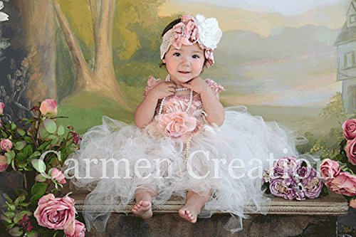 Vintage Baby Fairy Tutu Dress (Taffeta Tutu)