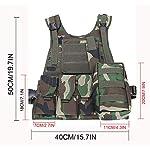 ThreeH Gilet tactique militaire Paintball équipement de police équipement de protection 8