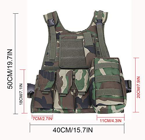 ThreeH Gilet tactique militaire Paintball équipement de police équipement de protection 4