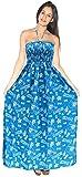 Backless Sundress Halter Boho Evening Party Swimsuit Maxi Skirt Beach Tube Dress