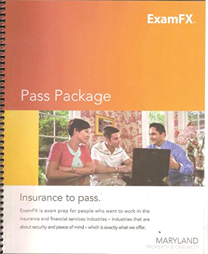 ExamFX Pass Package: Maryland Property & Casualty Pdf