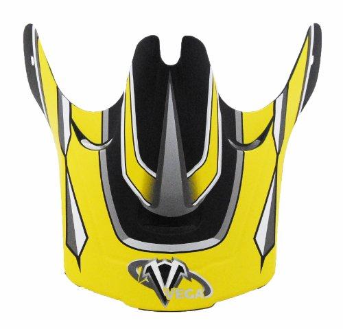 Vega Graphic Replacement Visor for NBX-1 Off-Road Helmet (Yellow)