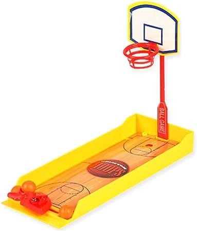 Ogquaton Premium Quality 1 Pc Divertido Desktop Baloncesto Mini Baloncesto Deportes Juguetes Finger Juegos de Mesa Baloncesto: Amazon.es: Hogar