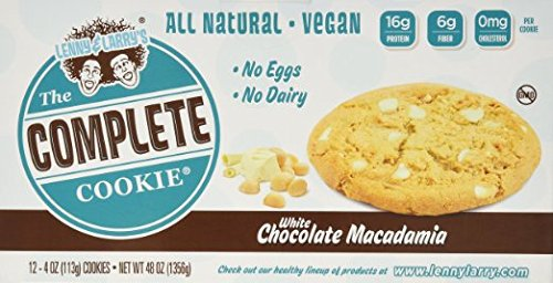 Lenny & Larry's The Vegan Complete Cookie® White Chocolate Macadamia -- 12 Cookies