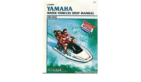 U-NOS-W805 USED 1987-1992 Clymer Yamaha Waverunner