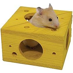 Sleep 'n' Play Cheese - Hamster & Small Animal Toy