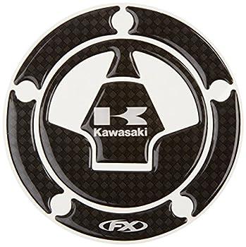Factory Effex 15-58120 Carbon Fiber Gas Cap Dome Sticker  for Kawasaki Ninja 650/ Ninja ZX-6/ Ninja ZX-1