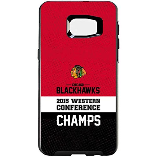 NHL Chicago Blackhawks Otterbox Symmetry Galaxy S6 Edge+ Skin - Chicago Blackhawks 2015 Western Conference Champs Vinyl Decal Skin For Your Symmetry Galaxy S6 Edge+ by Skinit