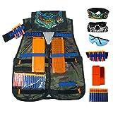 (US) Aweoods Elite Tactical Vest Jacket Kit for Nerf N-strike Elite Series (Camouflage)