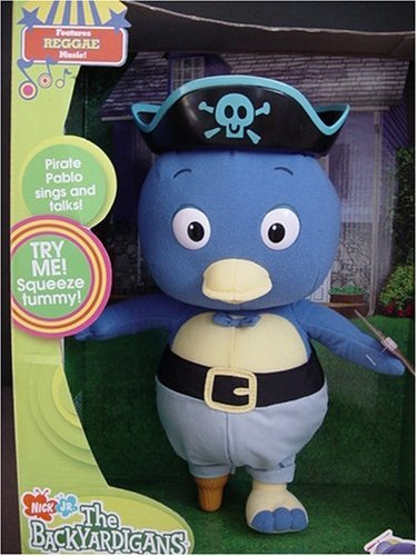 Backyardigans Sing and Pretend Pirate Pablo