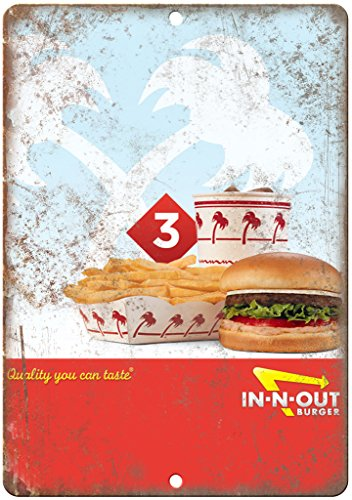in-N-Out Burger Vintate Ad 12