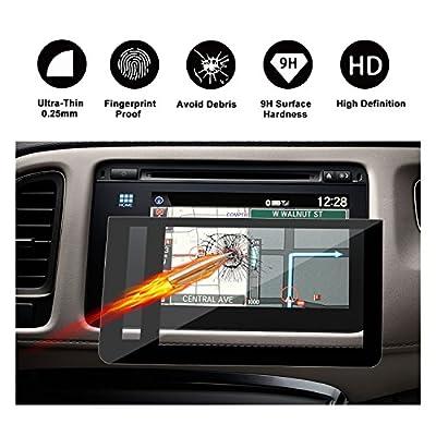 2016 2017 2018 Honda HRV EX EXL-Navi 7-Inch Display Touch Screen Car Display Navigation Screen Protector, RUIYA HD Clear TEMPERED GLASS Car In-Dash Screen Protective Film