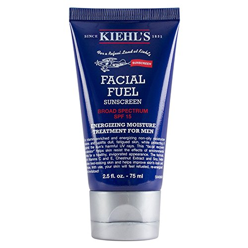 Kiehl's Facial Fuel SPF 15 - Small Size Tube 2.5oz (75ml) Kiehl' s