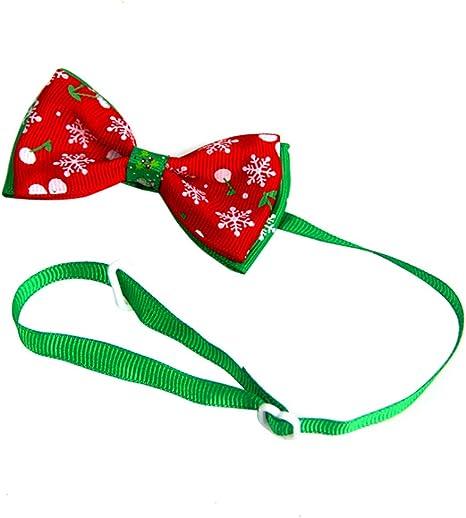 Wicemoon 1pcs Corbata de Lazo para Mascotas Corbata de Moño para ...
