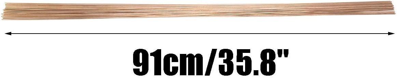 91cm de long Outil de soudage Baguettes de soudure en bronze au silicium bronze dor/é 450g 3 // 32inch diam/ètre de la tige 2mm