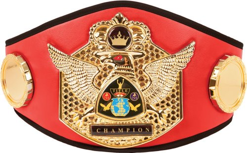 Boxing Title Belt (Triumphant Wings Of Victory Title Belt, Red)