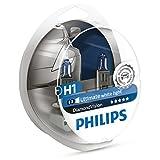 Philips Diamond Vision H1 5000K Ultimate White Light 12V 55W (Pack of 2) 12258DVS2