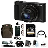Sony Cyber-shot DSC-HX90V Digital Camera with 32GB Deluxe Accessory Bundle