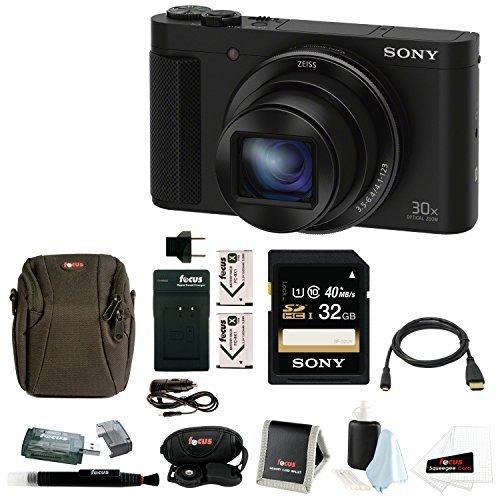 Sony Cyber-Shot DSC-HX90V Digital Camera with 32GB Deluxe Accessory ()