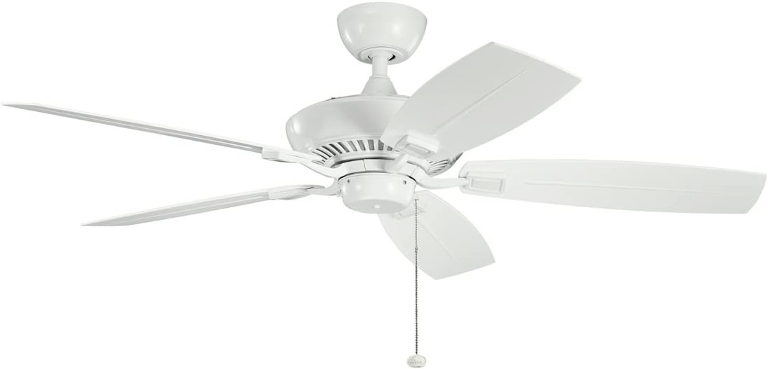 Kichler Award 310192WH 52-Inch Canfield Patio White Fan Ranking TOP15