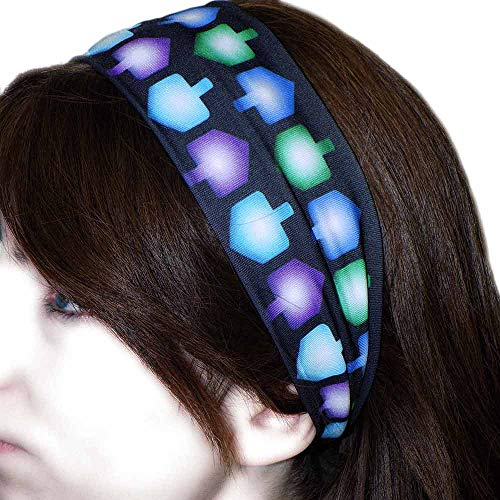Girl Dreidel (Midrash Manicures Girls Hanukkah Dreidel Headband 2018 Chanukah Gift for Women)