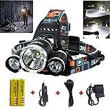 Best Headlamps - Super Bright 10000 Lumens Led Headlamp Flashlight,Super Bright Review
