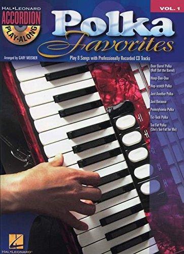 Polka Favorites - Accordion Play-Along Volume 1 (Book/CD) (Hal Leonard Accordion (Accordion Polka Music)