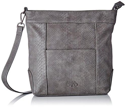 Temps Le Cerises des Women's bag Shoulder Selena Grey Gris Serpent 4 HBq4dBw