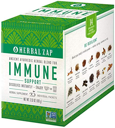 Herbal Zap ''Digestive & Immune Support'' 25 - Count Box by Herbal Zap