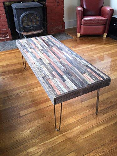 Barn wood coffee table -42