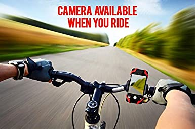 Widras Universal Premium Bike and Motorcycle Handlebars 1st Gen Phone Mount Adjustable 8 7 7 Plus 6s Plus Galaxy S8 S9 S7 S6 S5 Holds Phones Up To 3.5 Wide Fits iPhone X 8 8 Plus iPhone 6s
