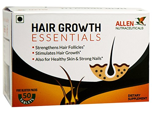 Hair Growth Essentials, REGROW Your Hair Growth, 50 Tablets