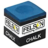 Pool Cue Chalk Cubes, 12-Pack - Felson Table