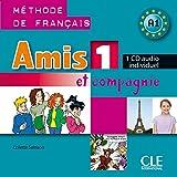 Amis et compagnie - Niveau 1 - CD individuel