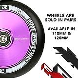 ROOT INDUSTRIES AIR Wheels 110mm - Black/Purple