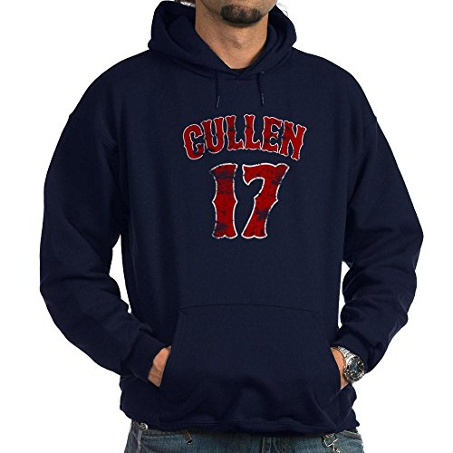 CafePress 17 Edward Cullen Twilight - Pullover Hoodie, Classic & Comfortable Hooded (Cullen Ribbed Sweater)